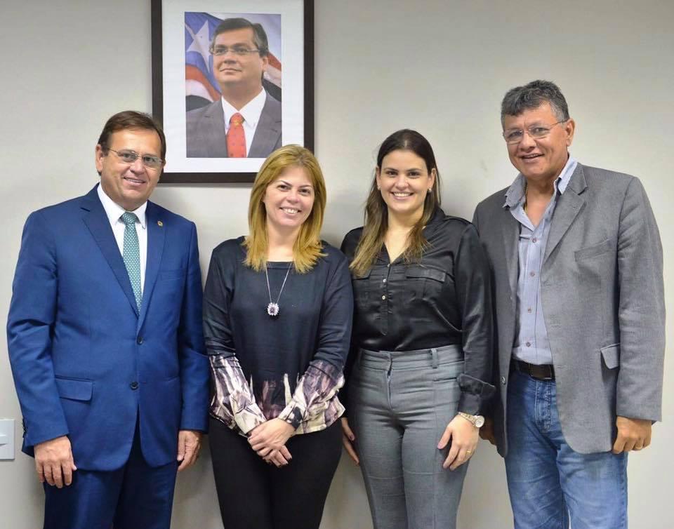 Stenio Rezende busca soluções para o trânsito de Vitorino Freire junto ao DETRAN
