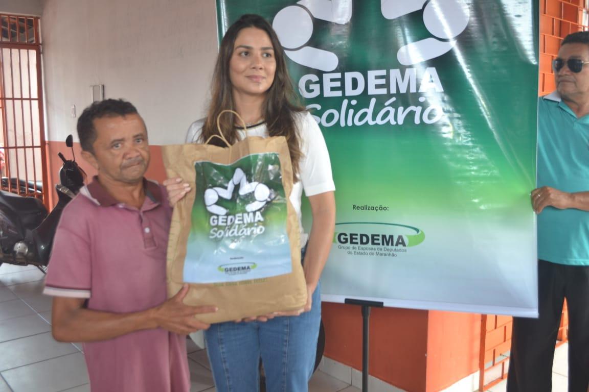 Gedema doa cestas básicas a moradores de municípios atingidos pelas cheias