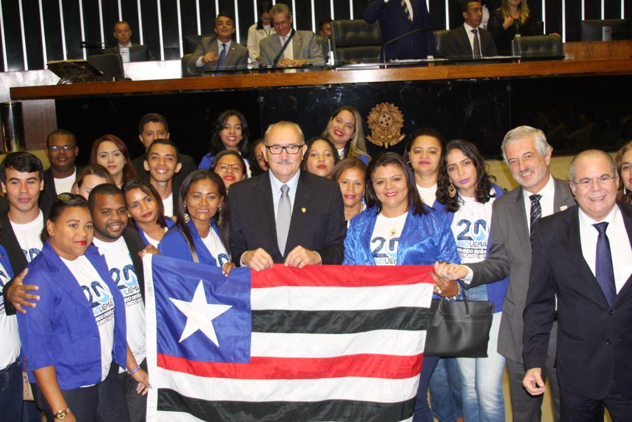 César Pires destaca homenagem da Câmara Federal à UEMA