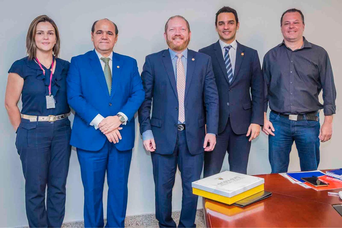 Assembleia e Ministério Público discutem parceria para veiculação de ações na TV Assembleia