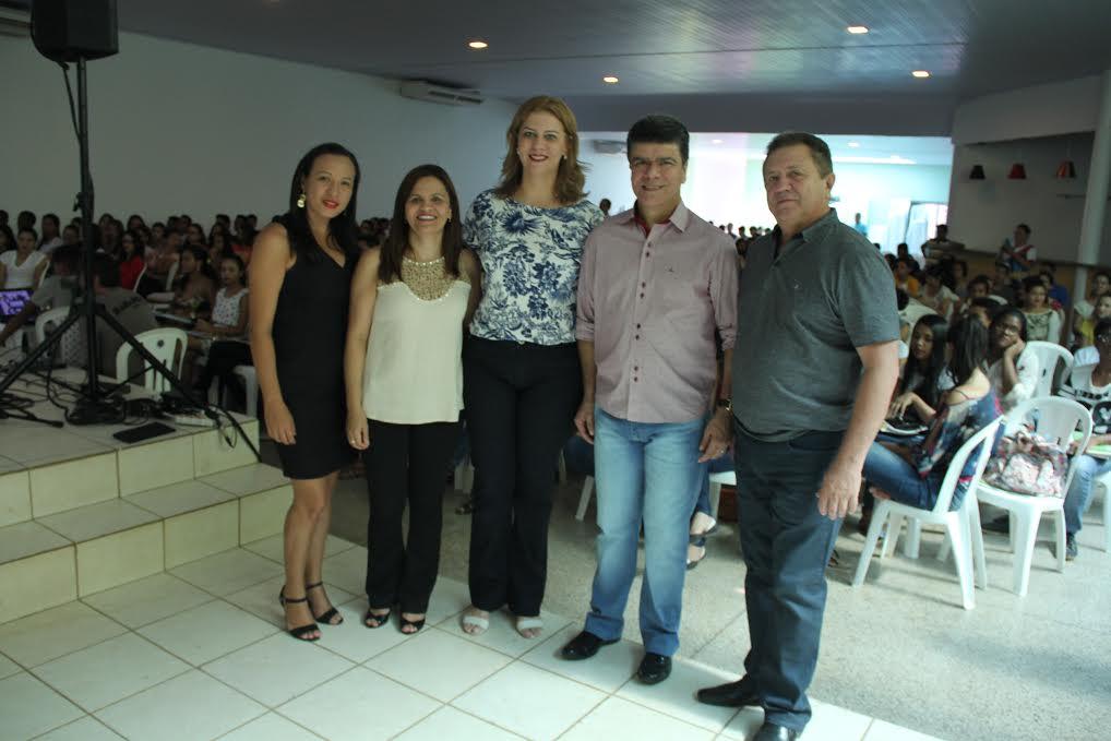 Deputada Valéria Macedo participa do Aulão do Enem em Porto Franco e Estreito