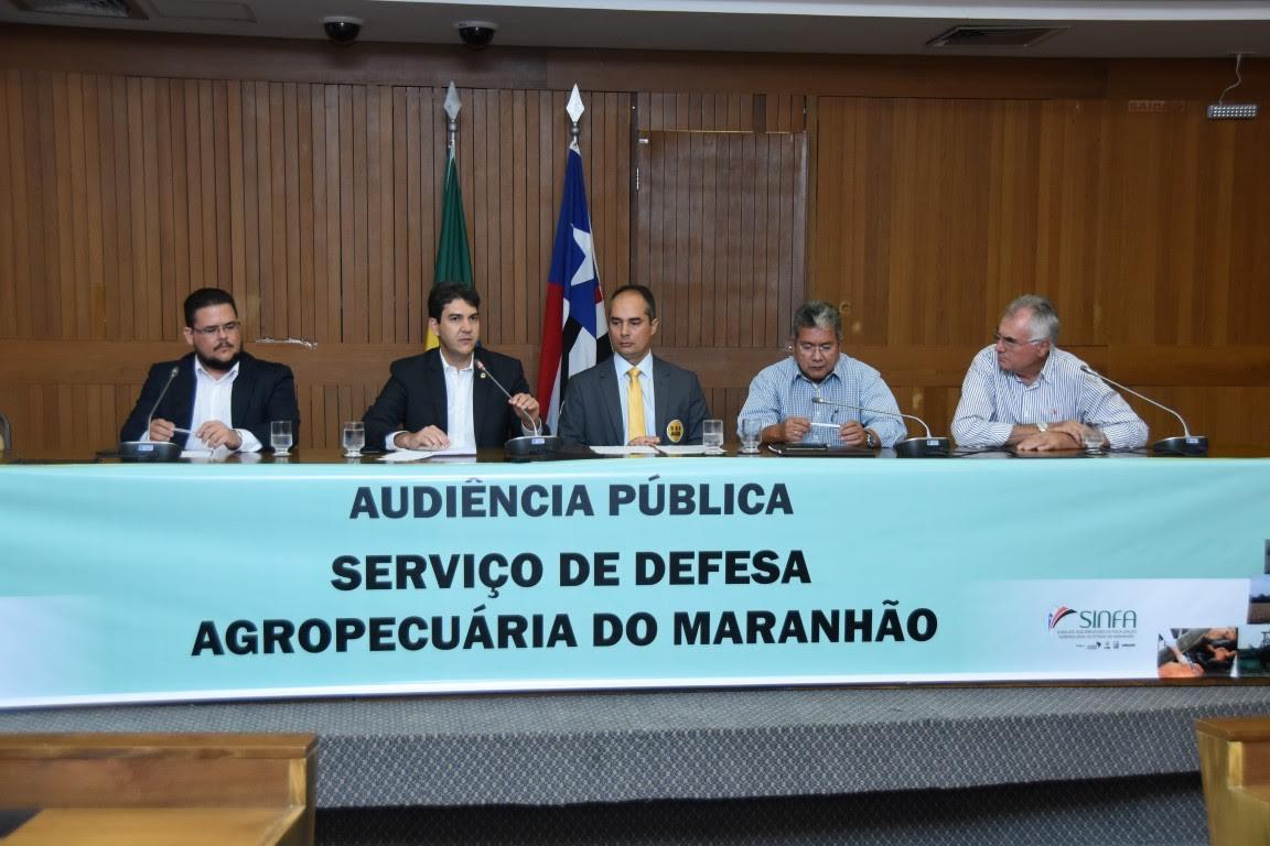Em audiência pública, fiscais agropecuários do Maranhão reivindicam melhores condições de trabalho