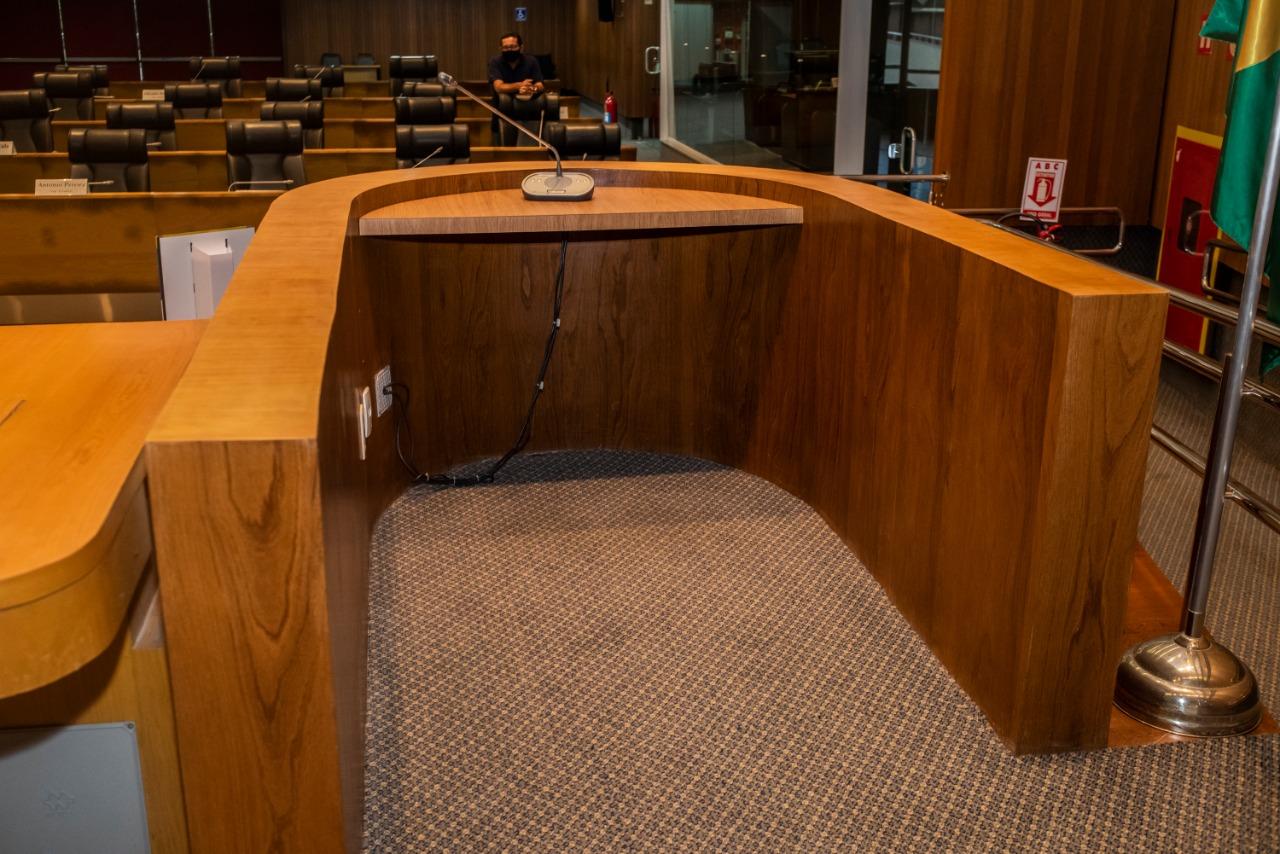 Tribuna do Plenário Nagib Haickel é a única do estado adaptada para pessoas com deficiência e mobilidade reduzida