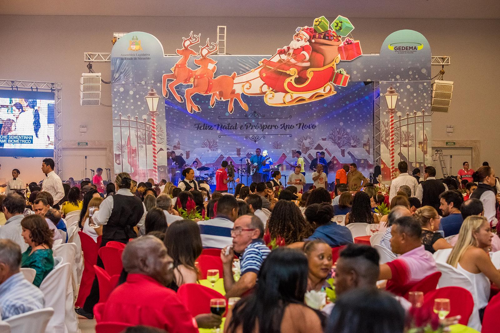 GEDEMA realiza bonita festa de confraternização dos servidores da Assembleia e familiares