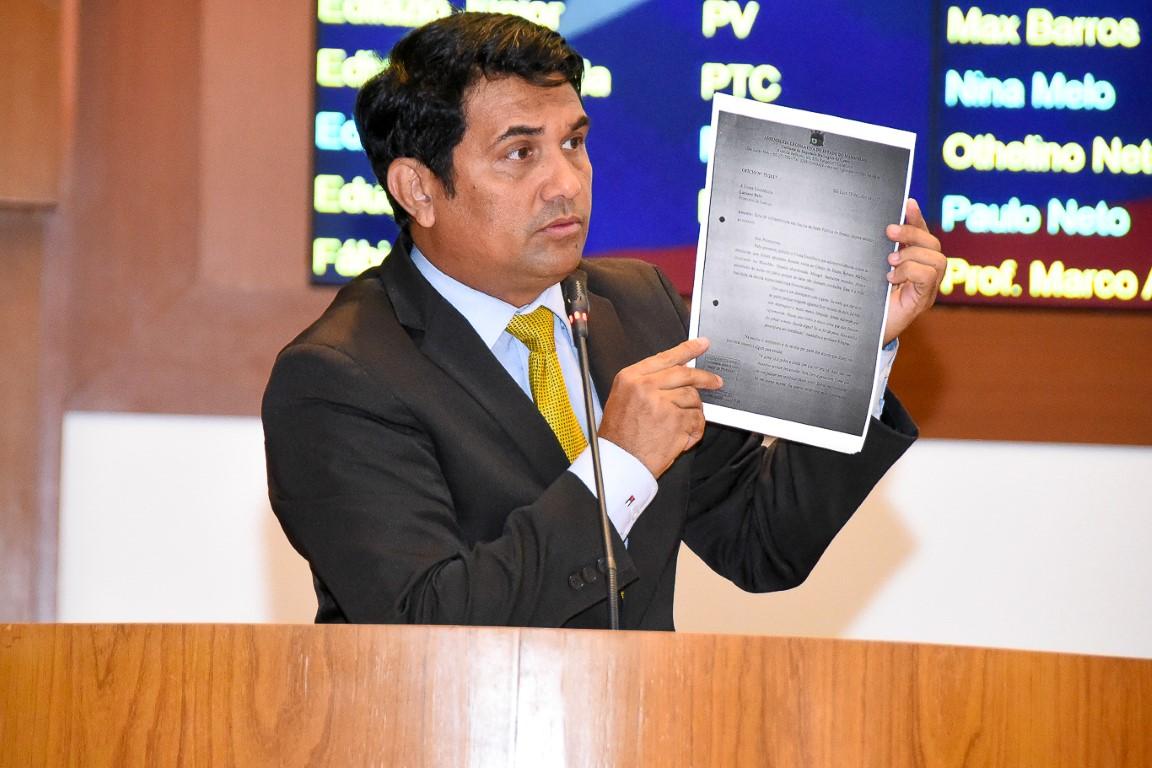 Wellington anuncia coleta de assinaturas para CPI que investigará desvios na saúde