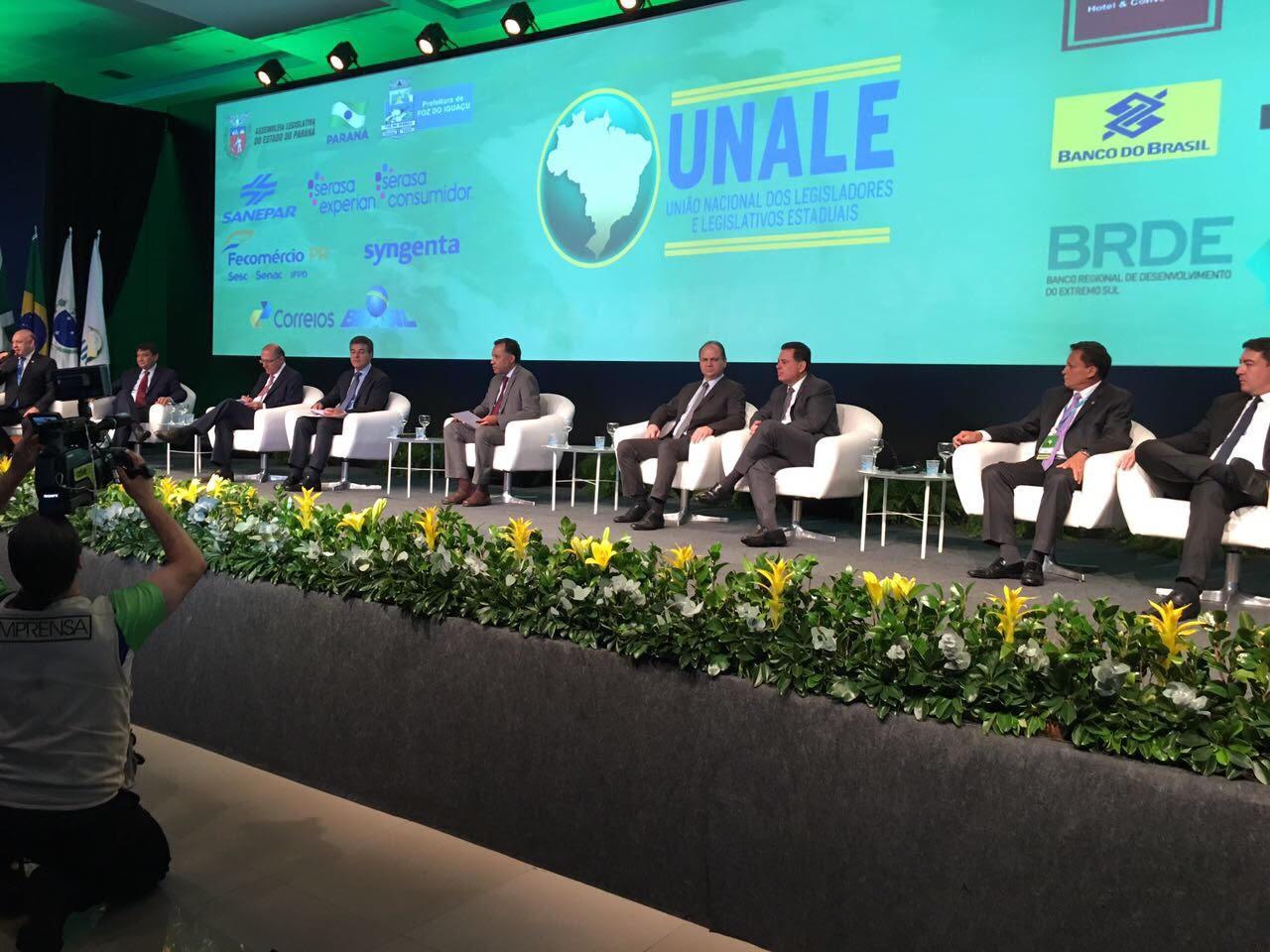 Governadores de todo o Brasil debatem sobre reformas durante a 21ª Conferência da Unale
