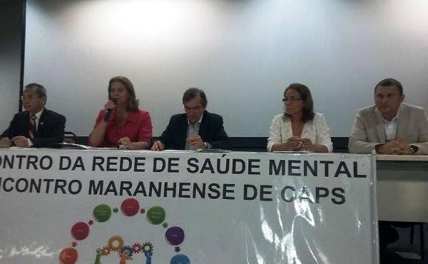 Valéria Macedo participa de Encontro da Rede de Saúde Mental do MA