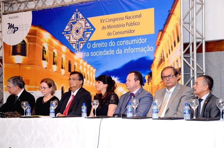 Presidente participa da abertura do XV Congresso Nacional do Ministério Público do Consumidor