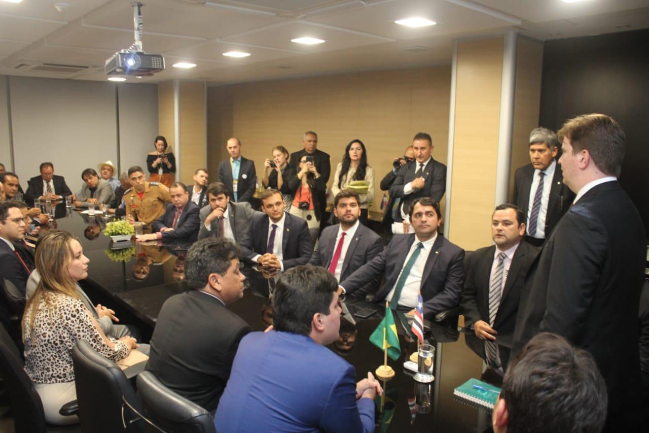 Vinicius Louro pede a transferência da administração das barragens do Maranhão para a Codevasf