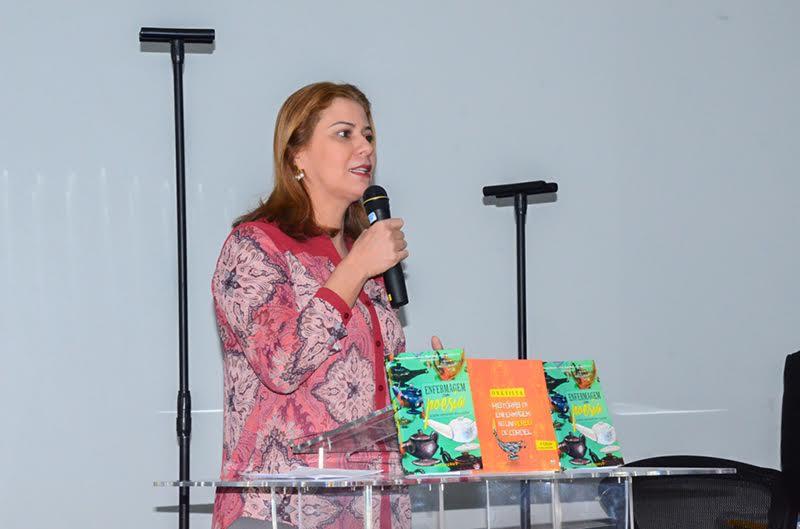 Valéria participa de Encontro Estadual de Líderes e Autoridades de Saúde