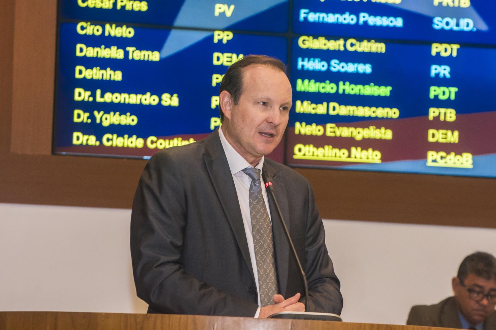 Márcio Honaiser parabeniza governo por entrega de obras na região sul do estado