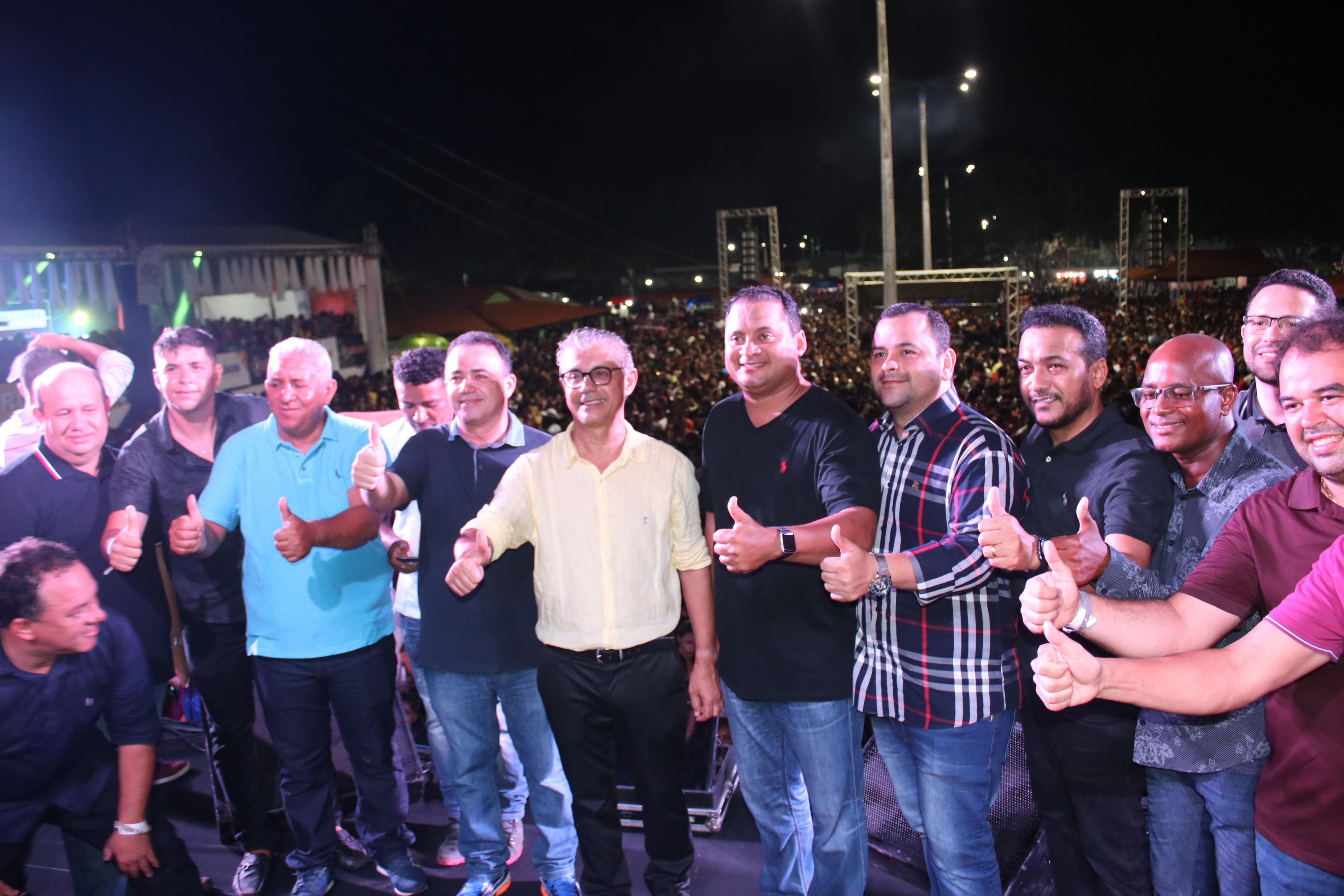 Deputado Vinicius Louro participa das comemorações em alusão aos 58 anos de Lima Campos