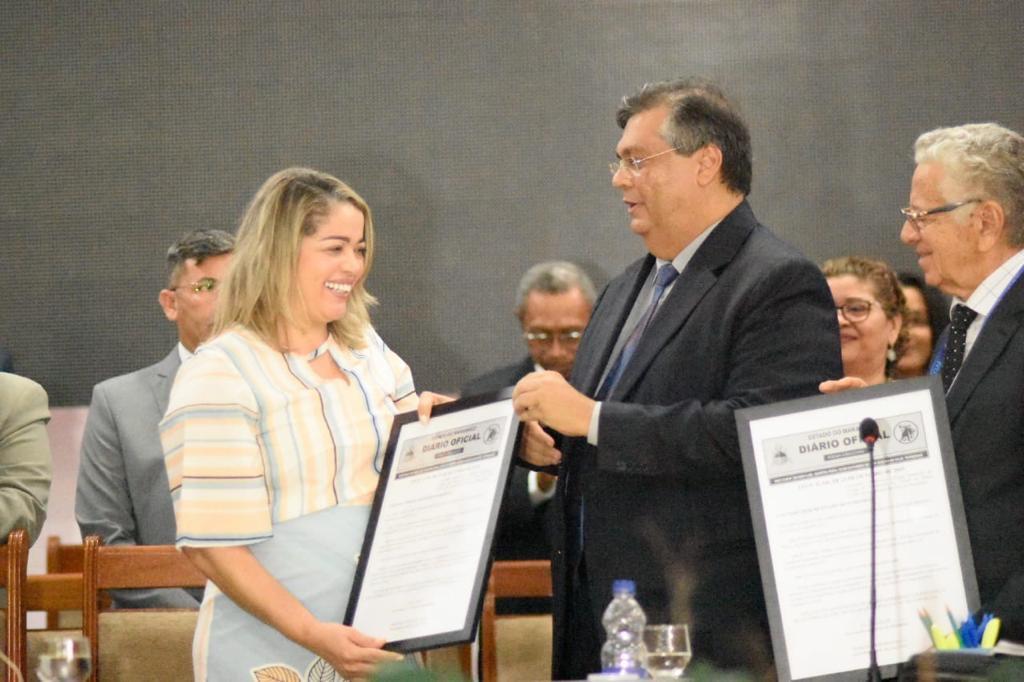Flávio Dino destaca trabalho de Mical Damasceno durante evento realizado em Vitória do Mearim