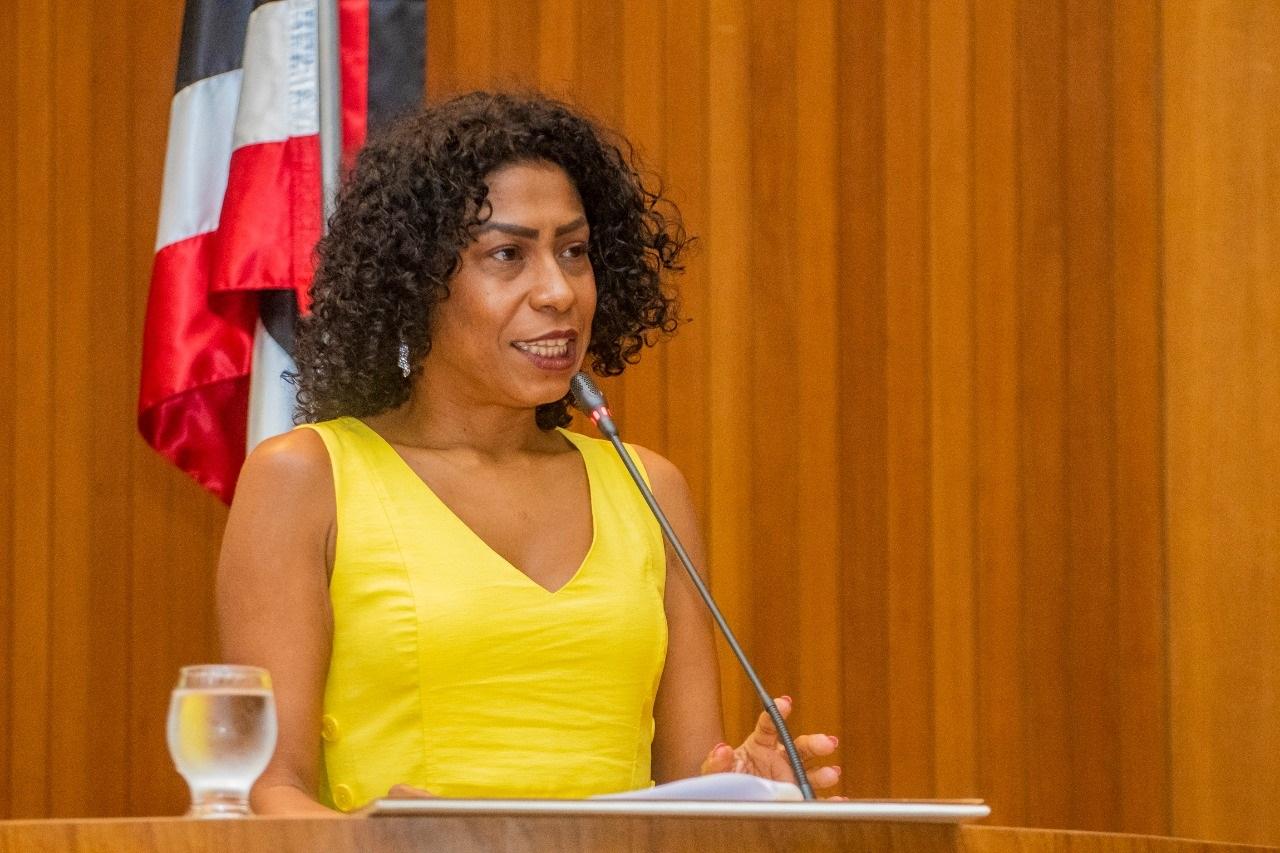 Professora Kátia Régis agradeceu a honraria e disse que o título de Cidadã Maranhense é um grande orgulho para ela