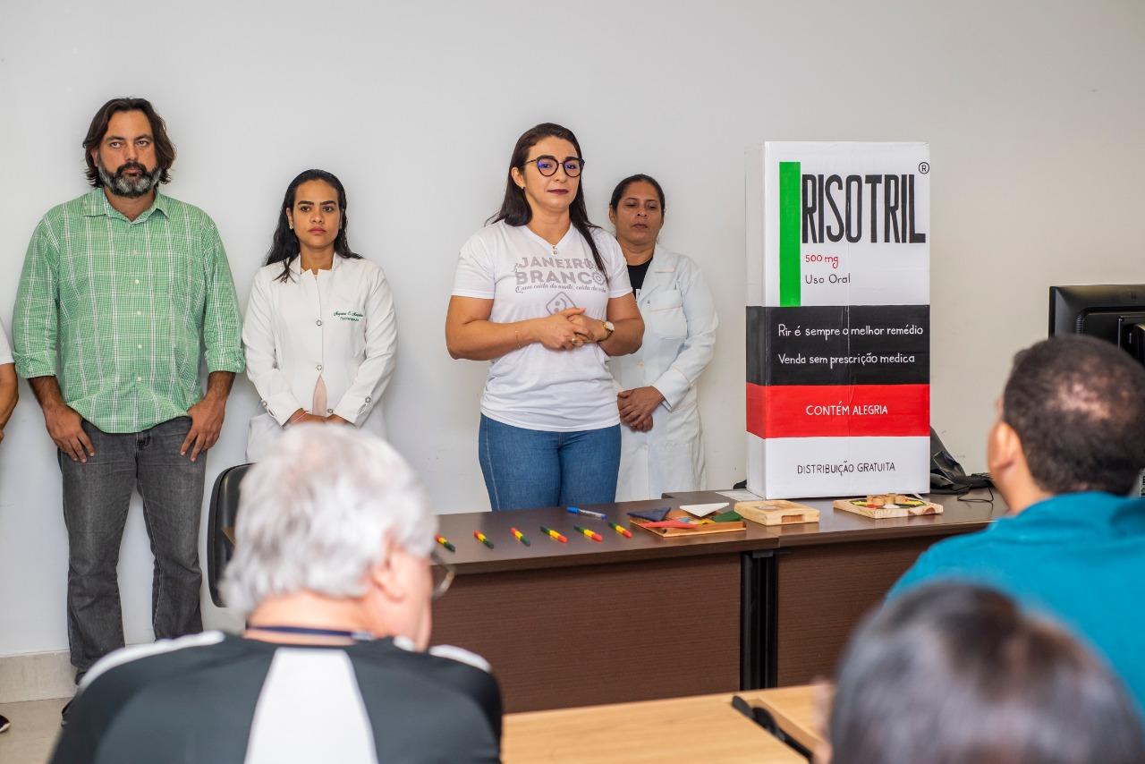 """Servidores da Assembleia participam de atividades alusivas à campanha """"Janeiro Branco"""""""