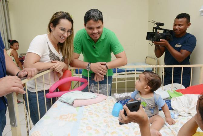 Thaiza Hortegal trabalha para implantar UTI Neonatal em Pinheiro