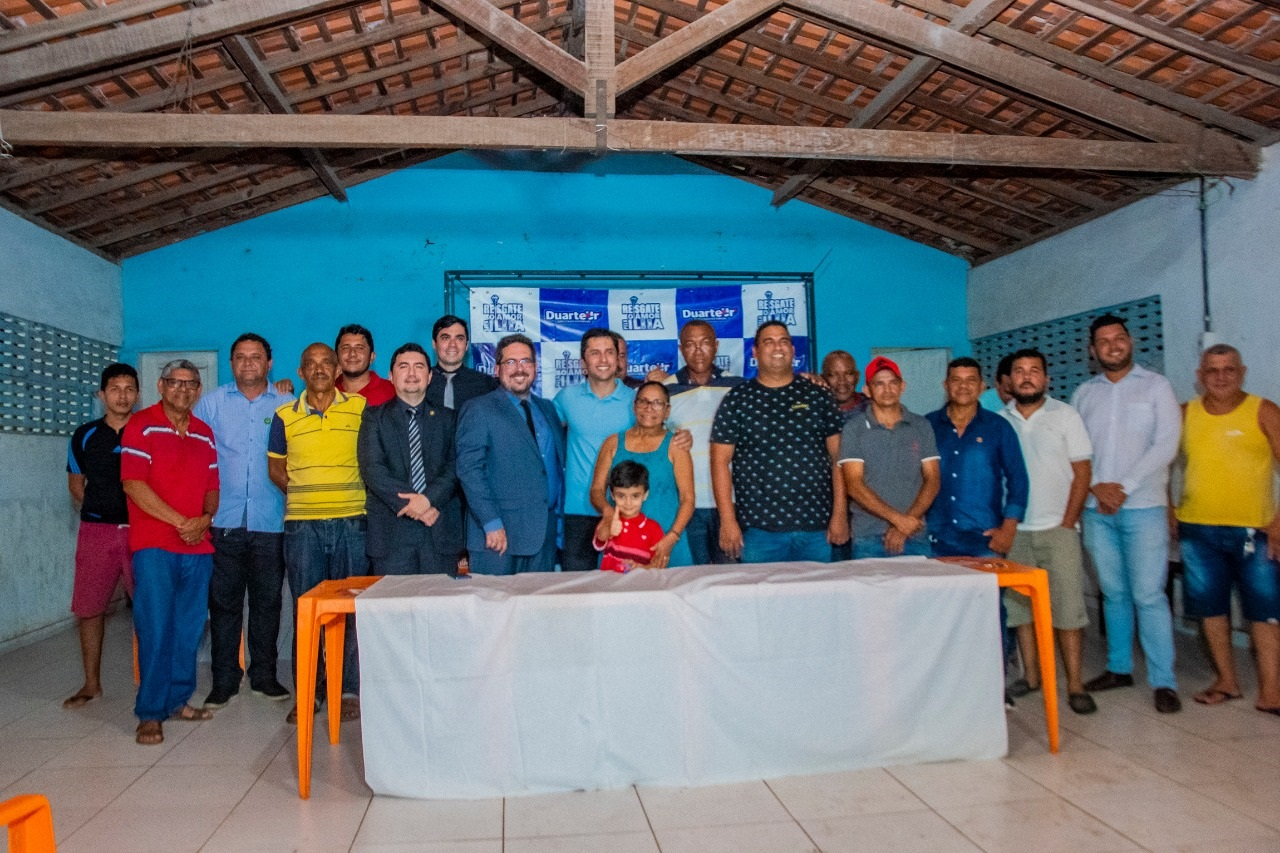 A audiência contou com a participação de defensores públicos e lideranças comunitárias da Zona Rural de São Luís
