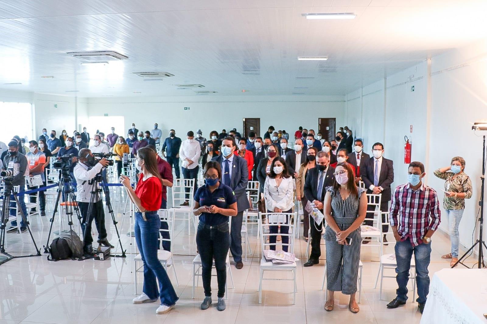 A quinta edição do evento contou com a participação de representantes de diversos municípios da região do Vale do Pindaré