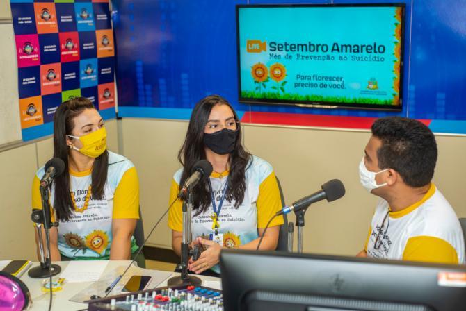 Ciclo de lives marca abertura da programação do 'Setembro Amarelo' na Assembleia Legislativa