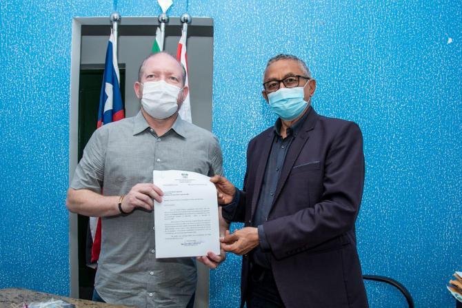 Othelino visita prefeito de Barreirinhas e anuncia ações para o município