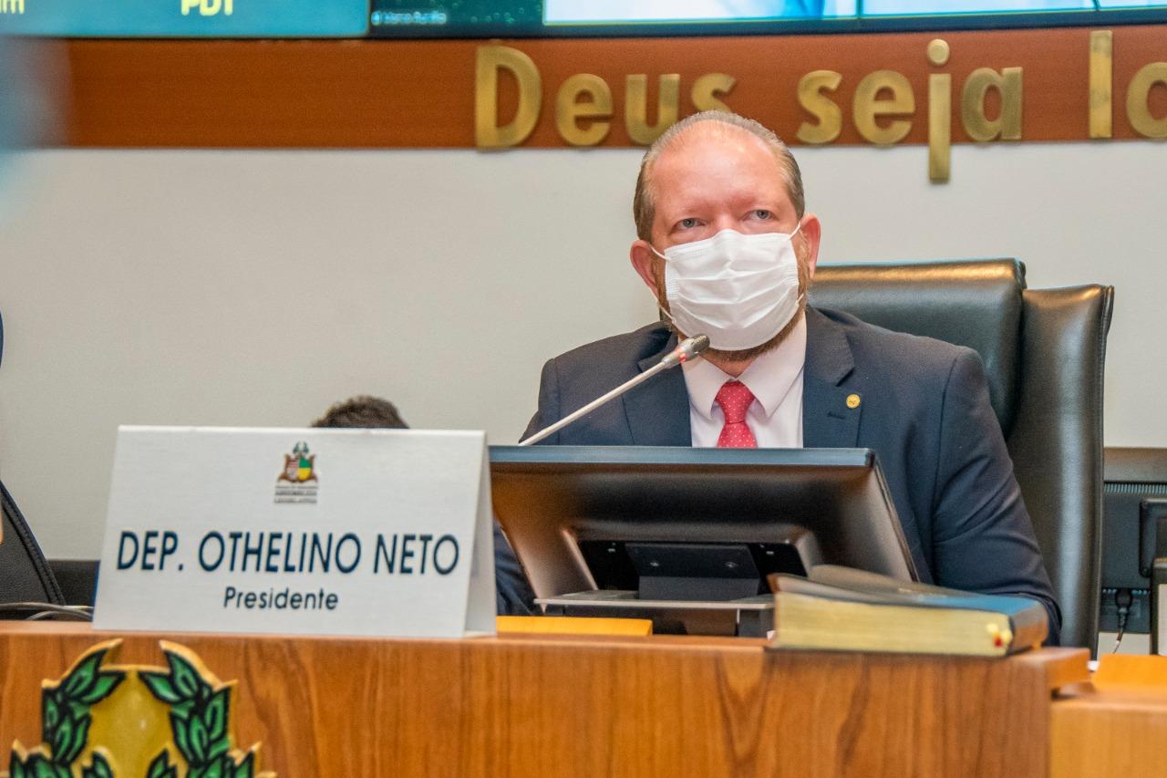 Othelino informou a cessão do Clube dos Servidores da Alema para local de vacinação no município de Paço do Lumiar
