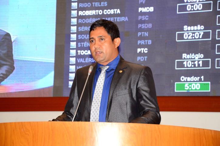Deputado Toca Serra solicita recuperação da MA-014