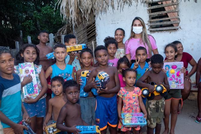 Gedema Solidário realiza ação social natalina em povoados de Pinheiro