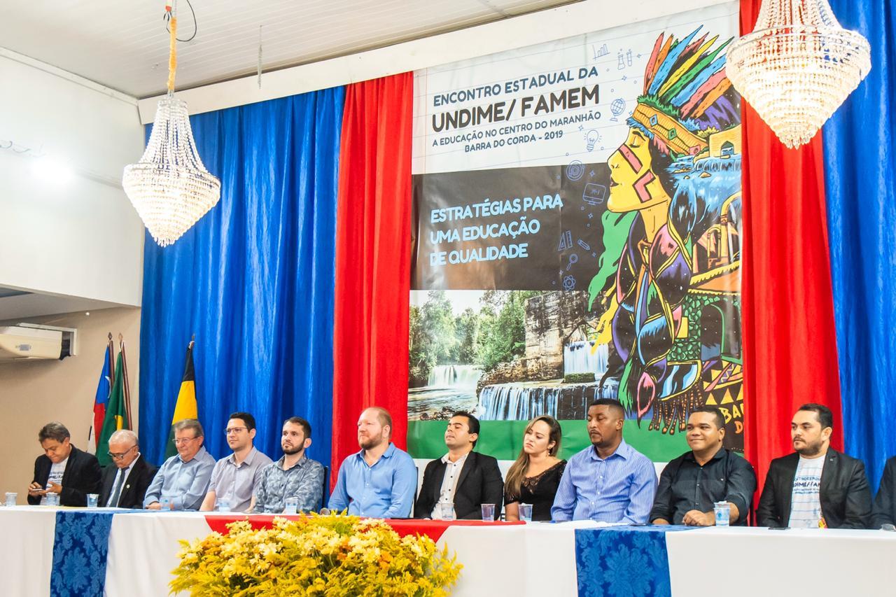 O Encontro Estadual da Educação acontece até esta sexta-feira (21), em Barra do Corda