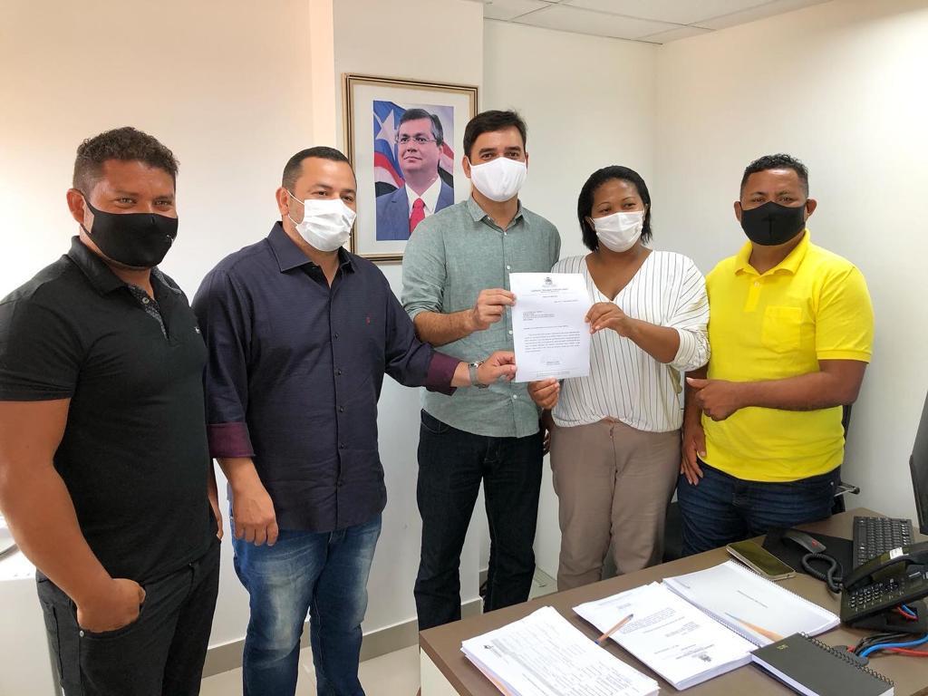 Vinicius Louro apresenta demandas de Apicum Açu a secretário