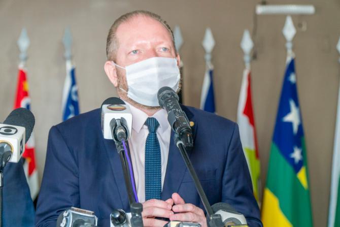 Em coletiva, presidente da Assembleia faz apelo ao Governo Federal para que retome o auxílio emergencial