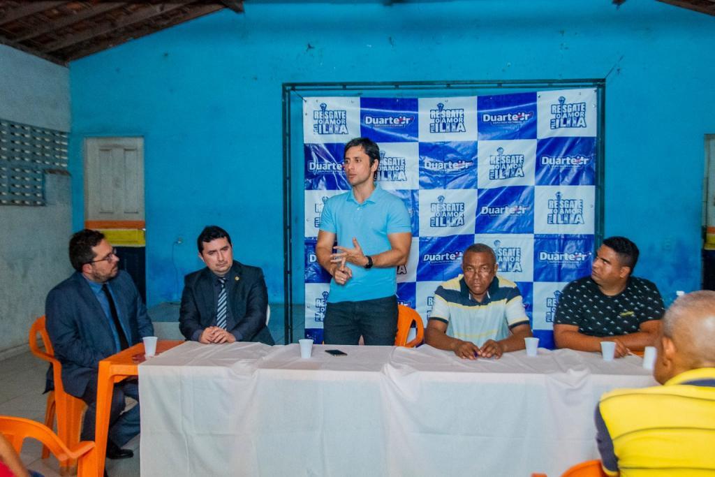 Duarte Jr. coordena segunda audiência para definir local de instalação da Defensoria Pública na Zona Rural