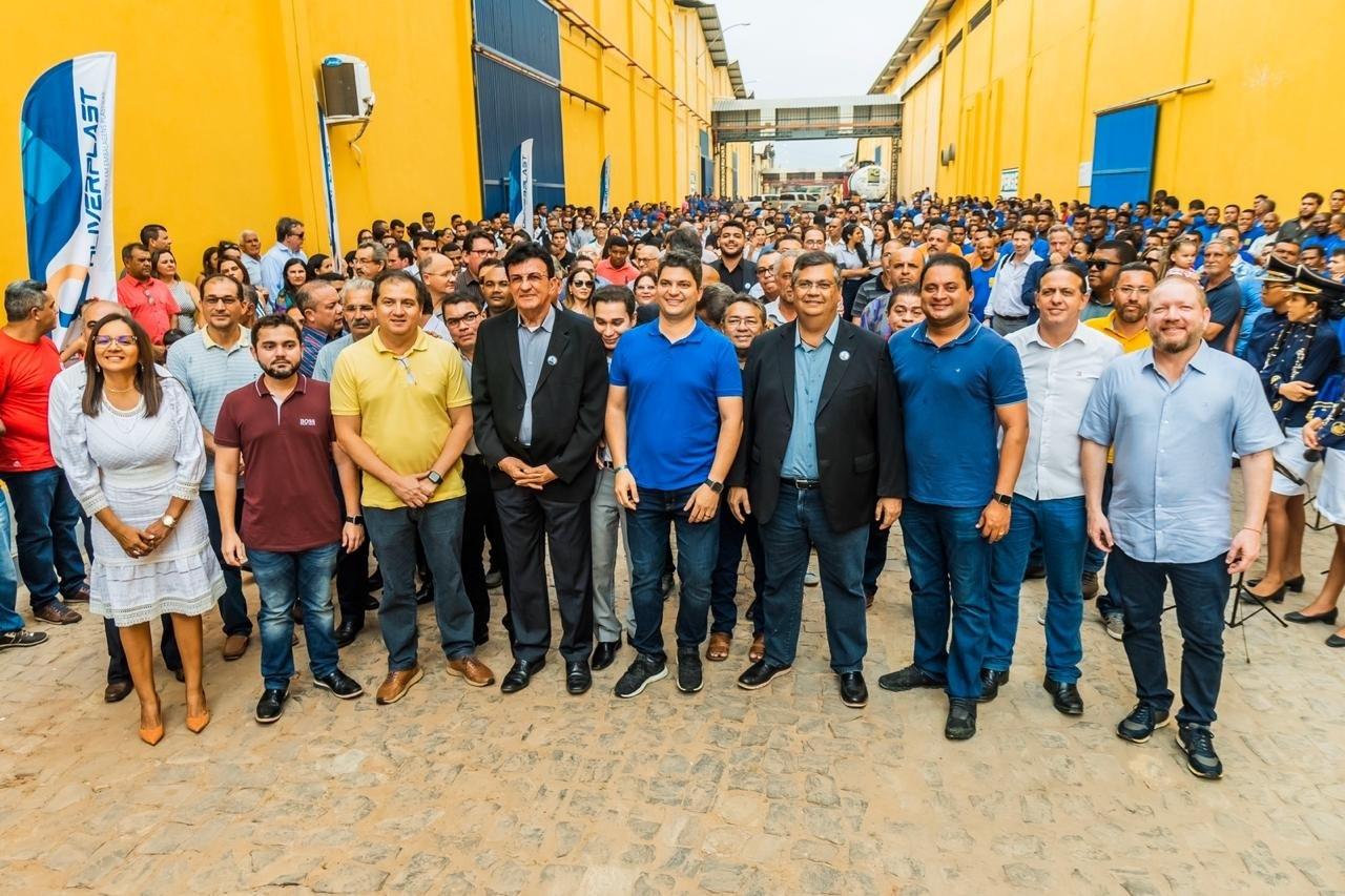 Kri inauguração da Oliverplast, novo empreendimento do Grupo FC Oliveira, voltada à produção de embalagens plásticas