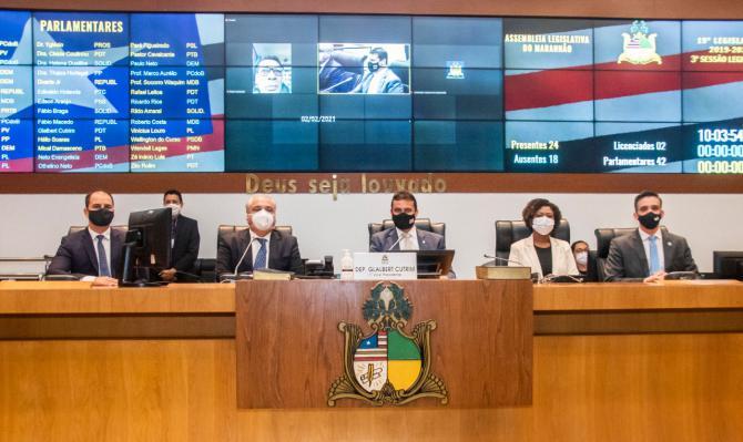 Sessão solene marca reabertura oficial dos trabalhos na Assembleia Legislativa