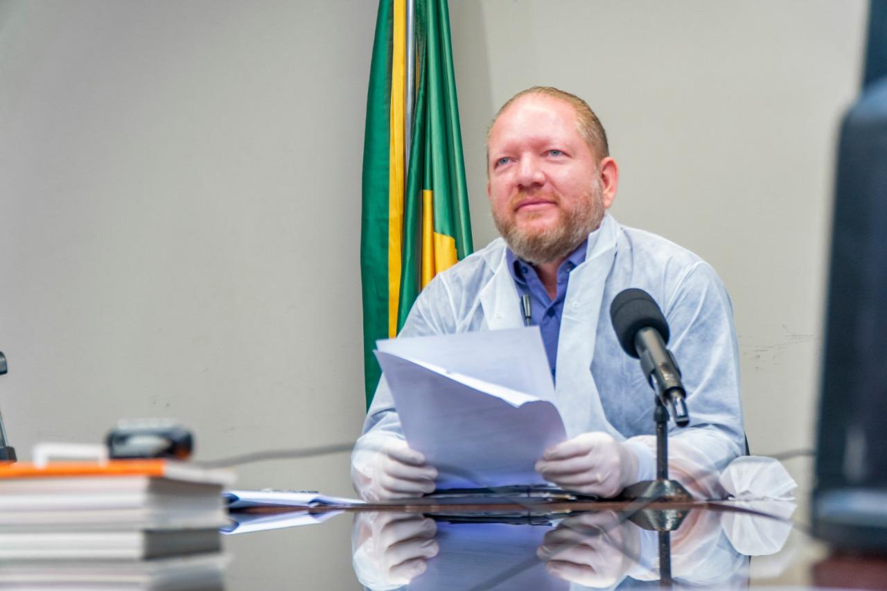 Othelino convoca nova sessão remota para votar medidas de combate à Covid-19 na próxima segunda