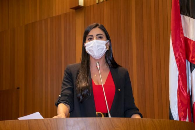 Daniella Tema é eleita nova procuradora da Mulher na Assembleia