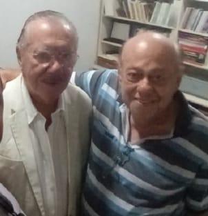 Zé Gentil parabeniza José Sarney pelo aniversário de 90 anos