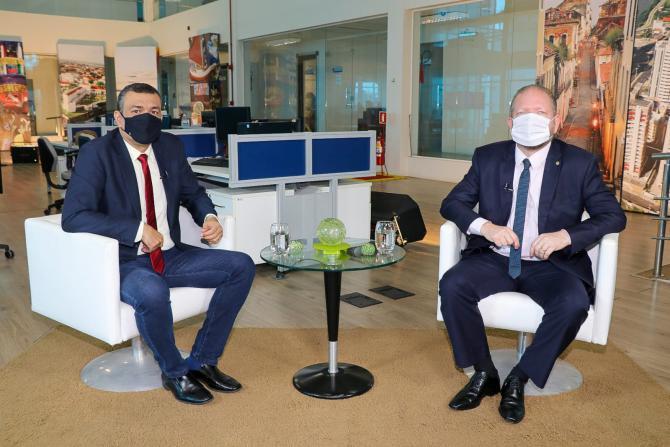 TV Assembleia - Othelino Neto diz que recondução ao cargo significa renovação de responsabilidade