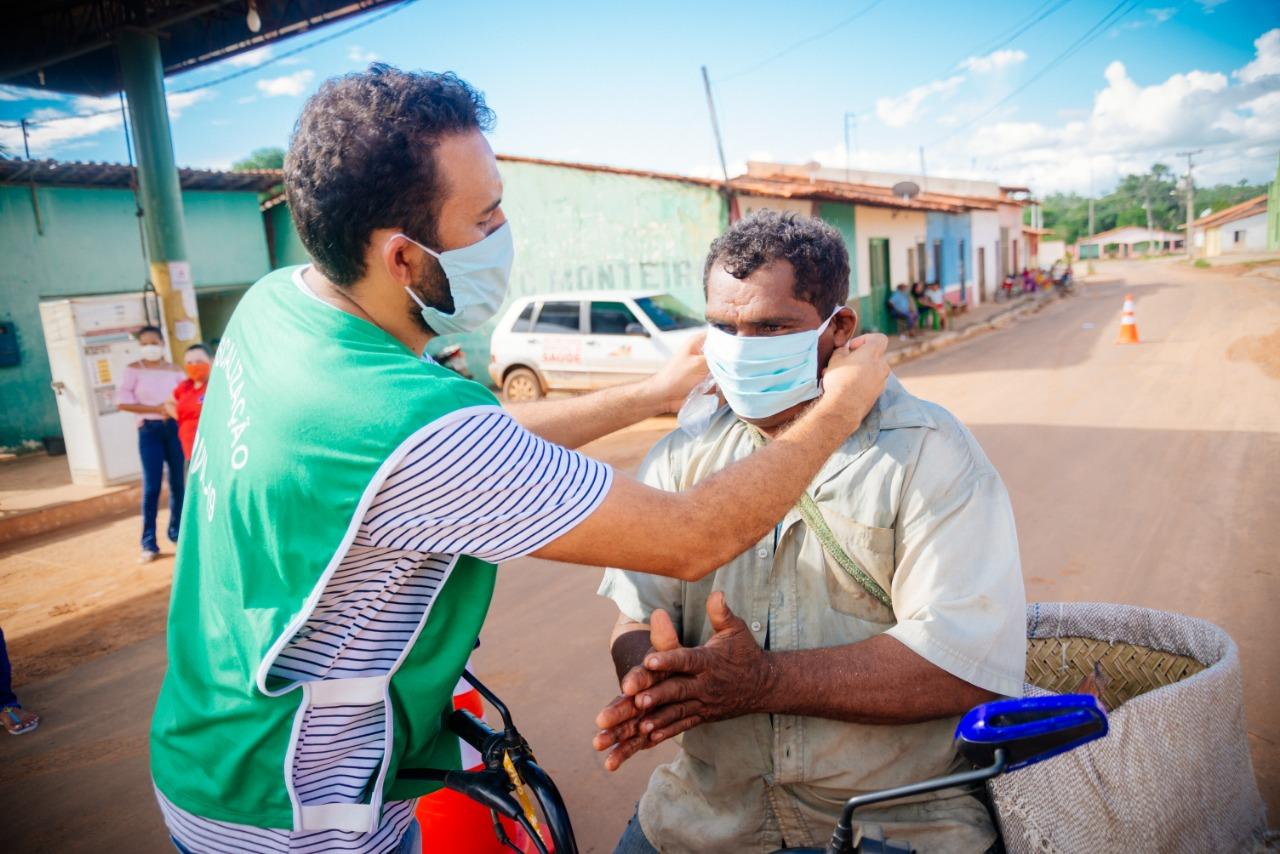 Daniella Tema se engaja em ações de combate ao Coronavírus em Tuntum