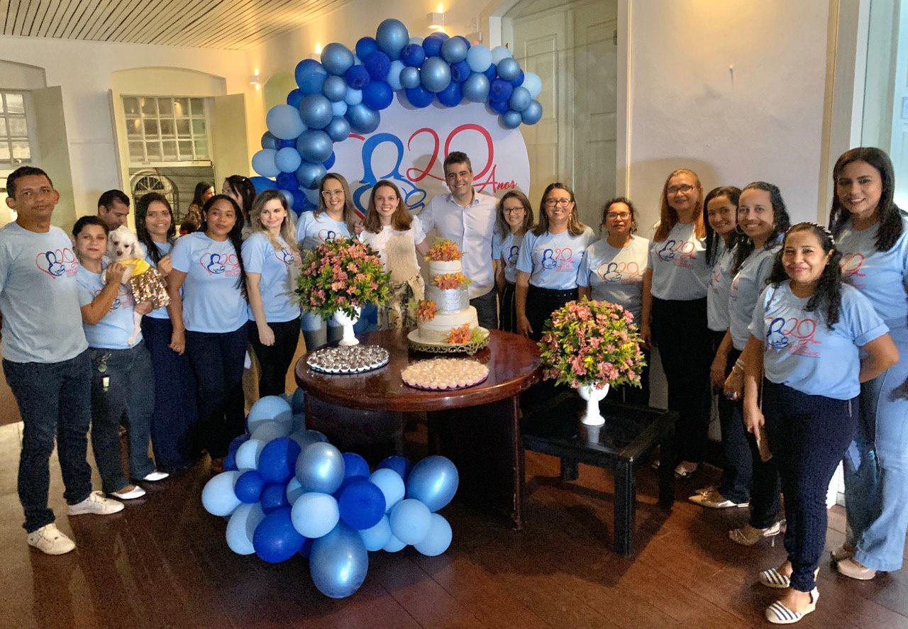 Adriano destaca importância do Banco de Leite em celebração dos 20 anos do serviço no Materno Infantil