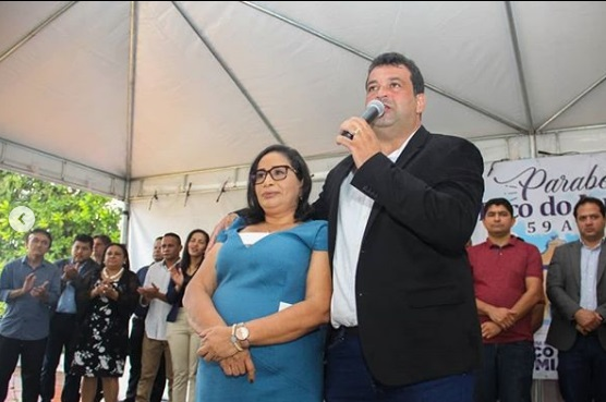 Adelmo Soares prestigia aniversário de Paço do Lumiar