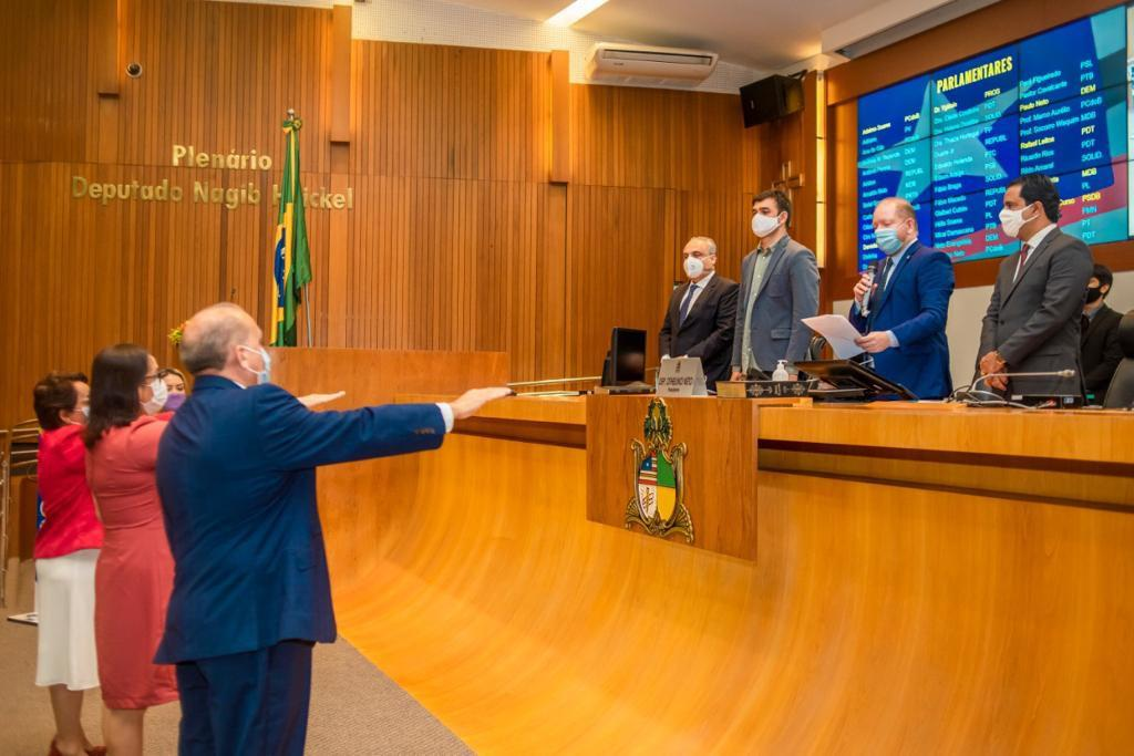 Fábio Braga, Socorro Waquim e Betel Gomes são empossados na Assembleia Legislativa
