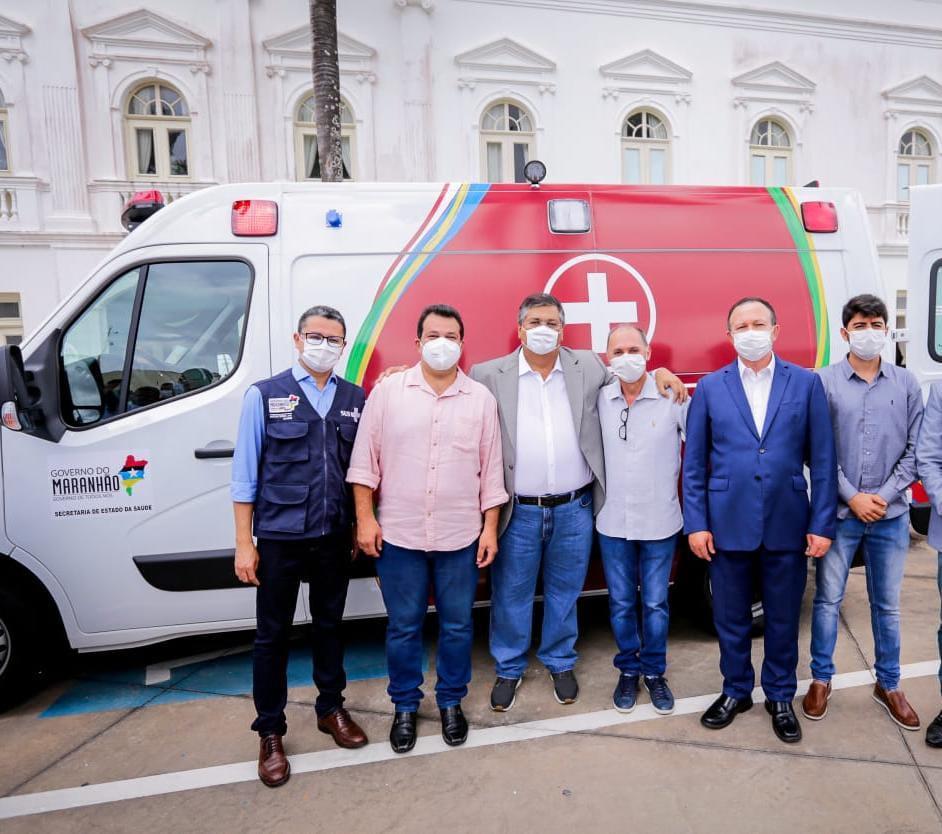 Adelmo Soares viabiliza ambulância para Esperantinópolis