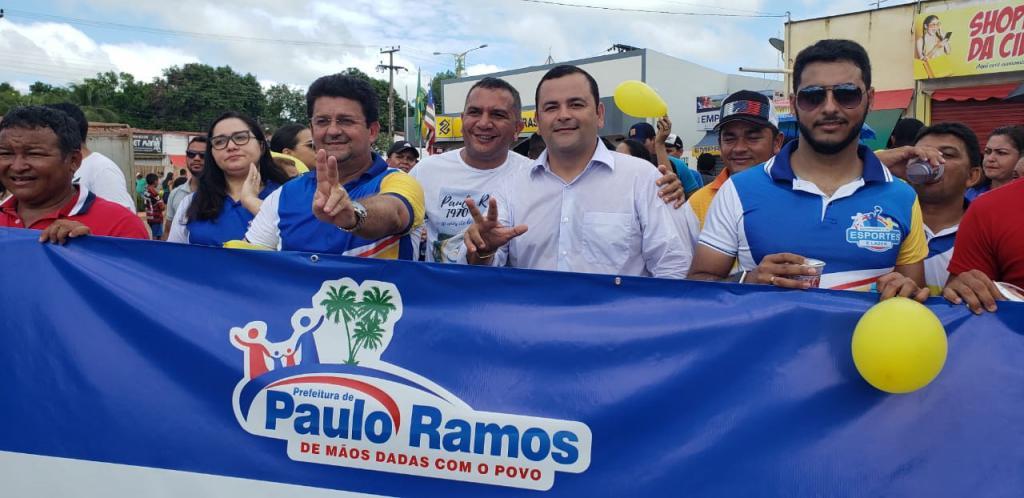 Deputado Vinicius Louro prestigia festividades em comemoração aos 50 anos de Paulo Ramos