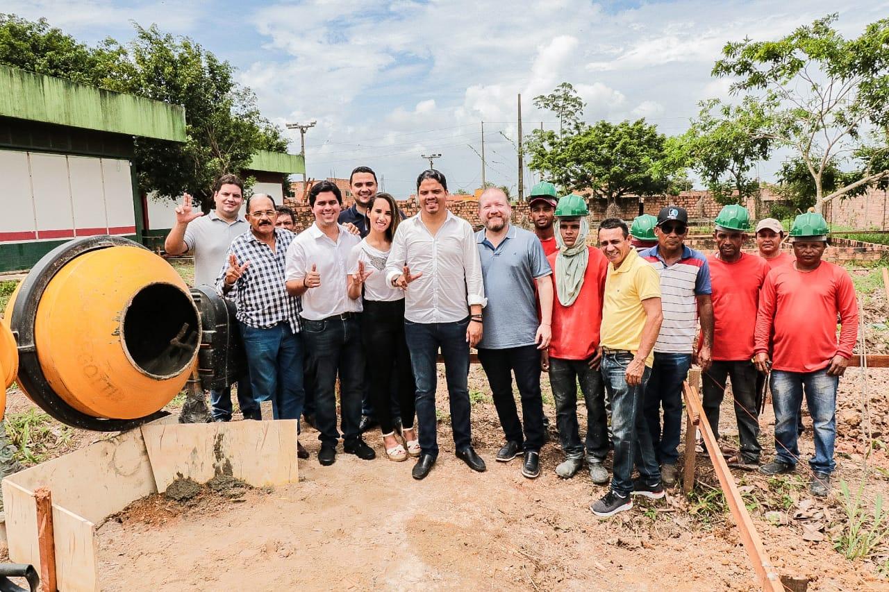 Othelino participa de lançamento de obras em Pinheiro e destaca aliança entre Assembleia, Câmara e Prefeitura