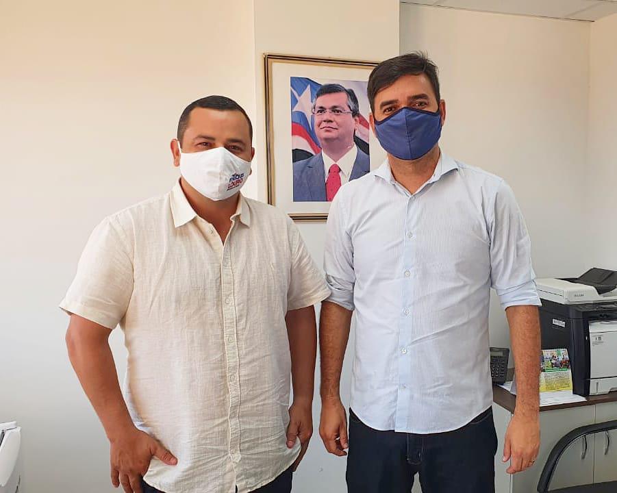 Vinicius Louro reúne-se com secretário de Articulação Política