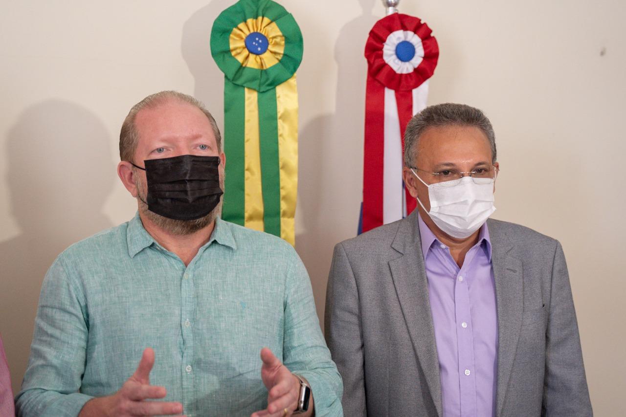 Presidente da Assembleia e prefeito Zezildo Almeida reforçam parceria em prol do município de Santa Helena