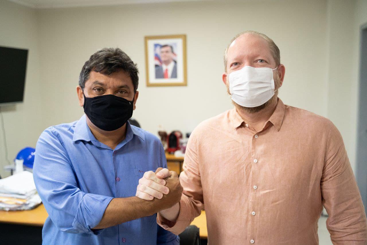Márcio Jerry e Othelino Neto reforçam a parceria para realização dos projetos em benefício da população maranhense