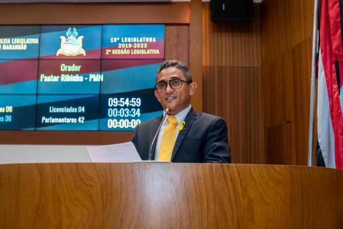 Pastor Ribinha solicita recuperação de MA que interliga Pinheiro a Presidente Sarney