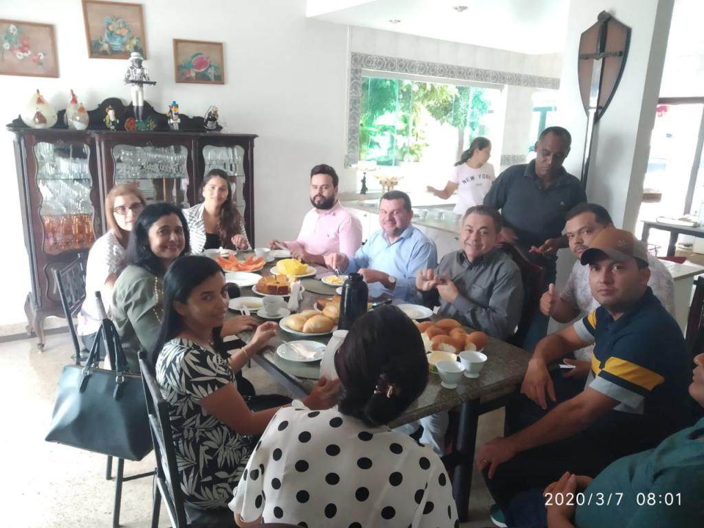 Deputado Antônio Pereira cumpre agenda política em municípios da região tocantina