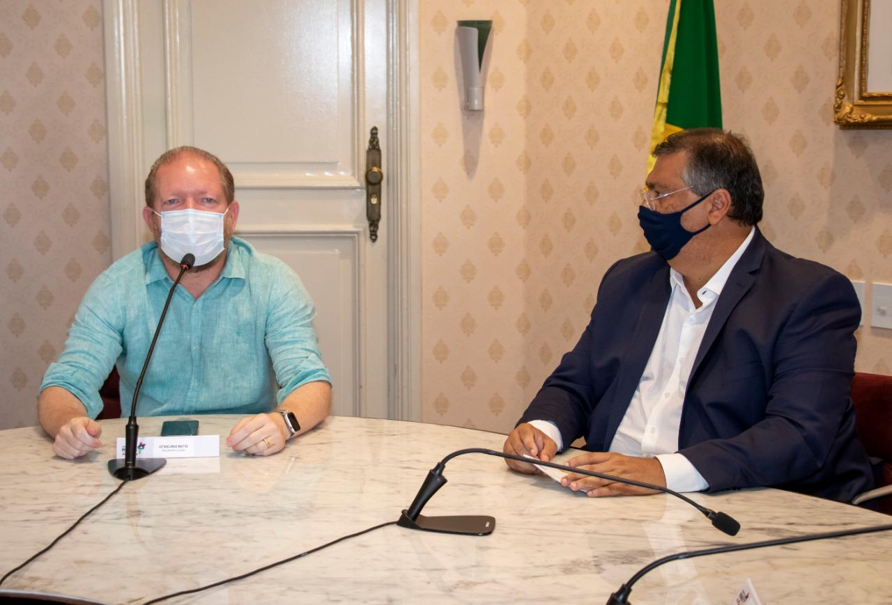 O chefe do Legislativo Estadual parabenizou o governador Flávio Dino pelo importante projeto a favor dos maranhenses